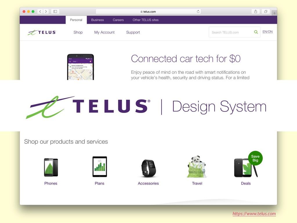 "h""ps://www.telus.com | Design System"