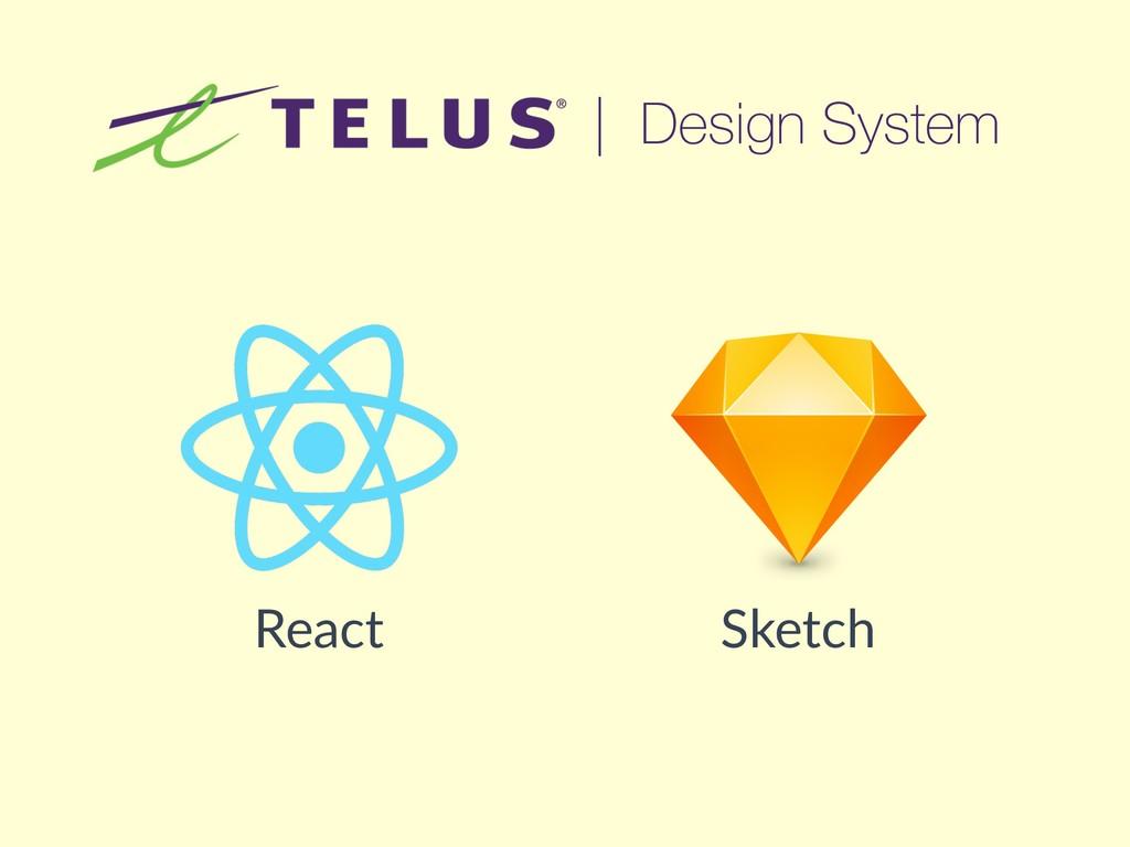 | Design System React Sketch