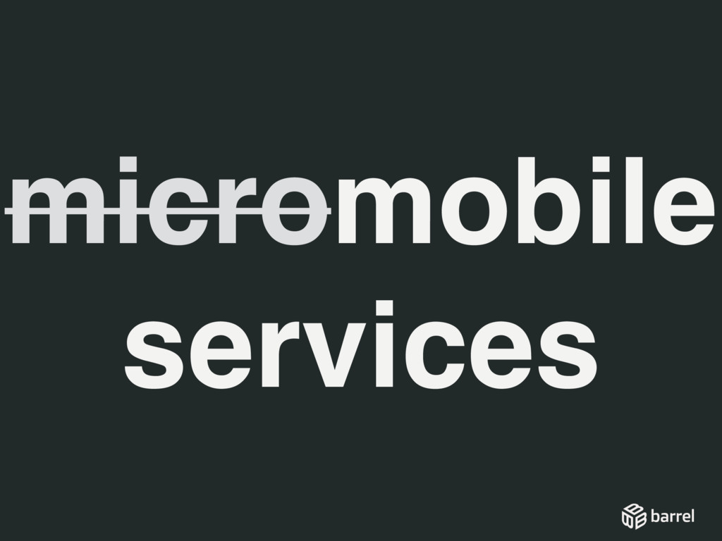 micromobile services