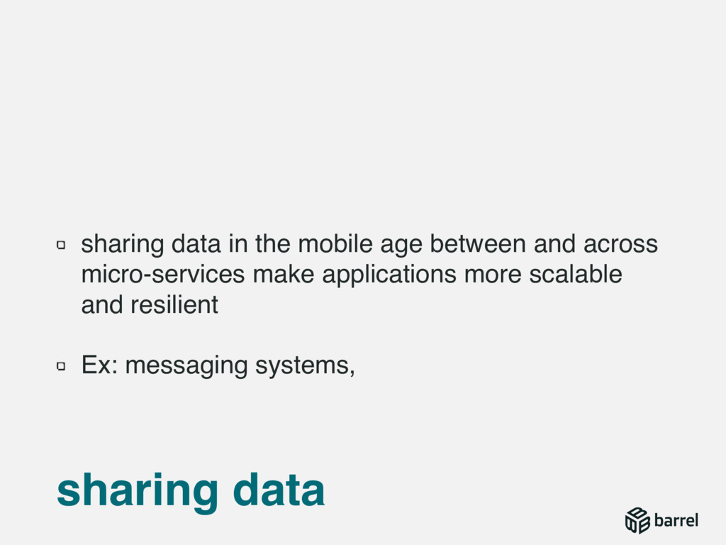 sharing data in the mobile age between and acro...