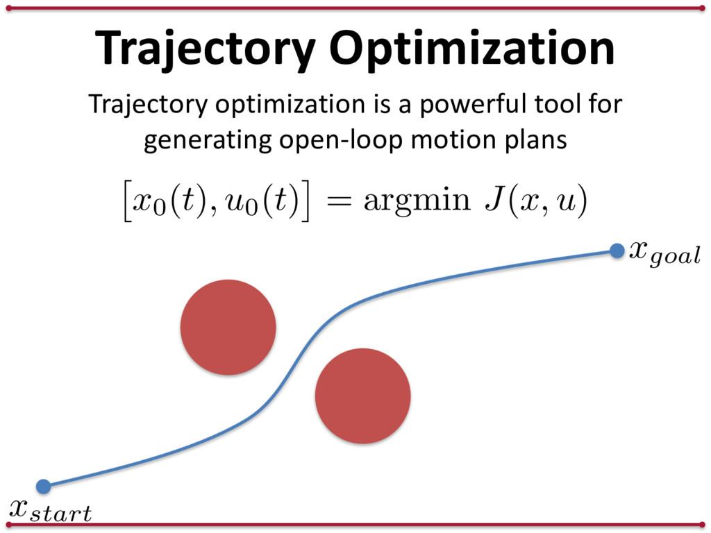 Trajectory Optimization xgoal Trajectory optimi...