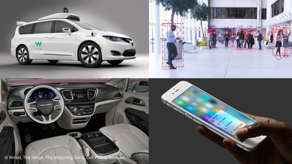 © Wired, The Verge, The Motoring Guru, Cell Pho...