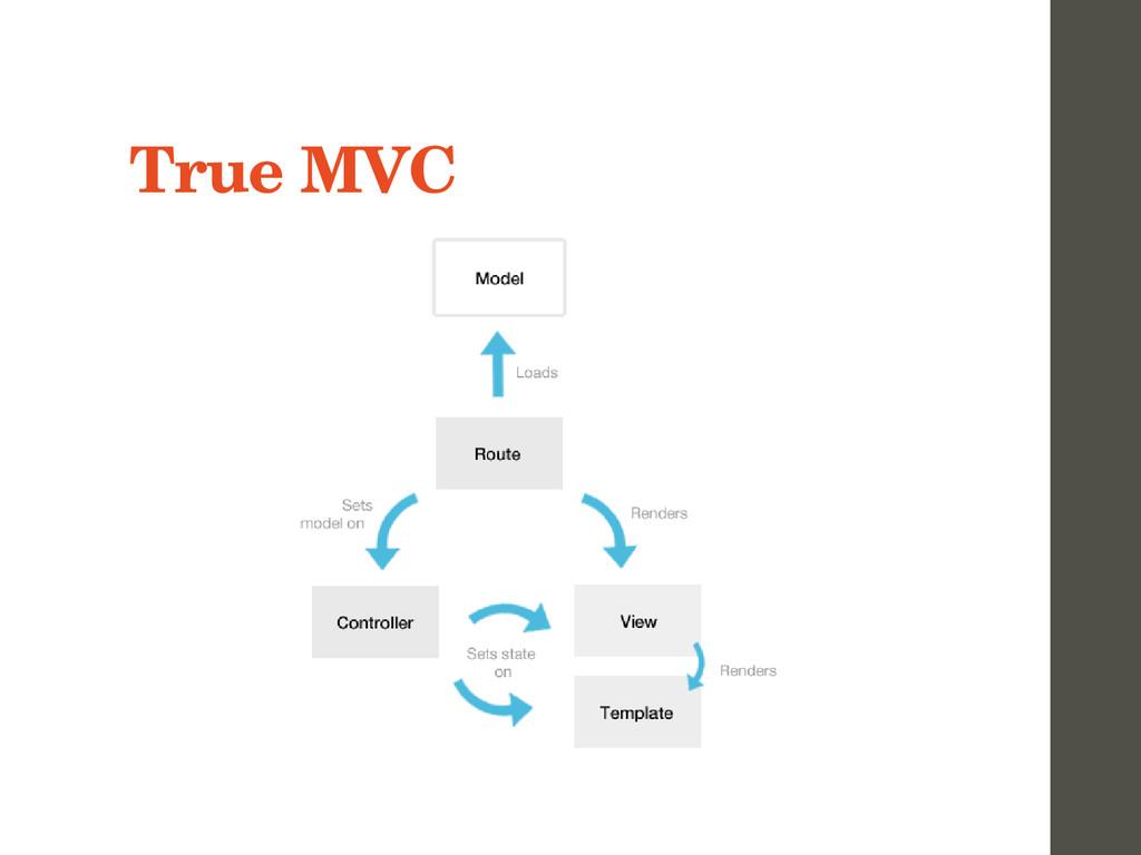 True MVC