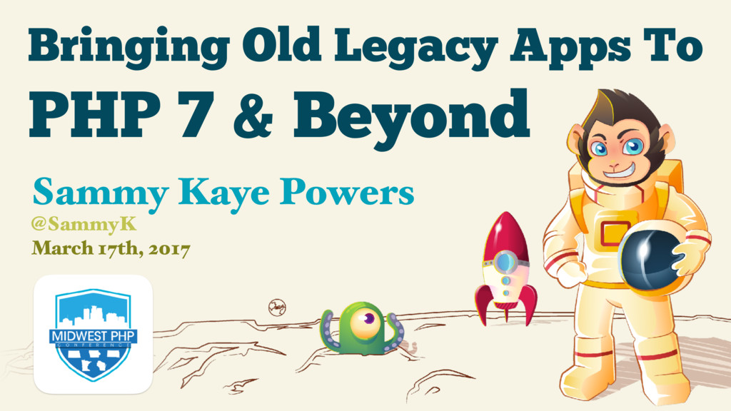 Bringing Old Legacy Apps To March 17th, 2017 Sa...