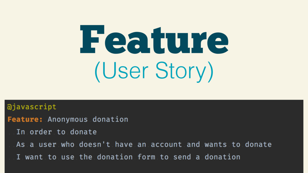 Feature (User Story)
