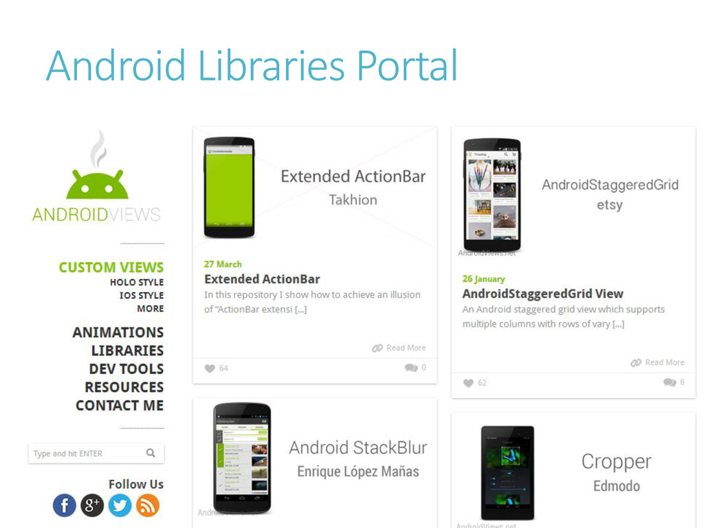 Android Libraries Portal