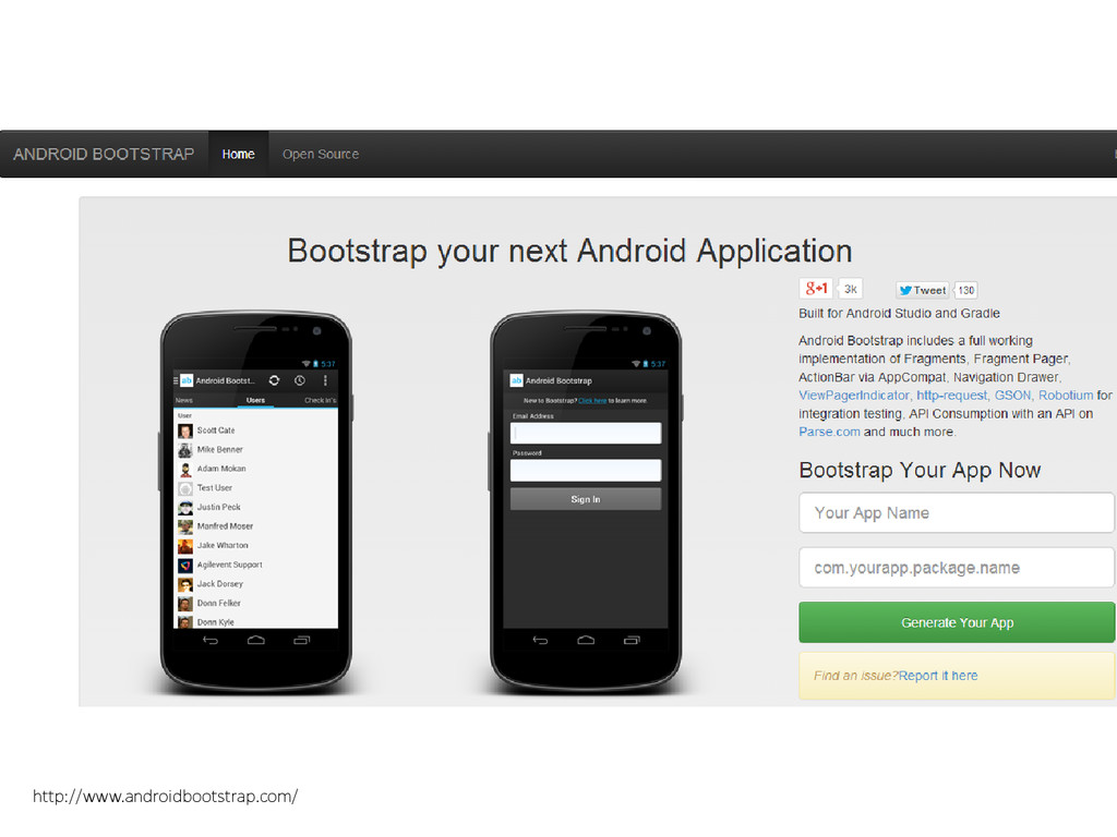 http://www.androidbootstrap.com/