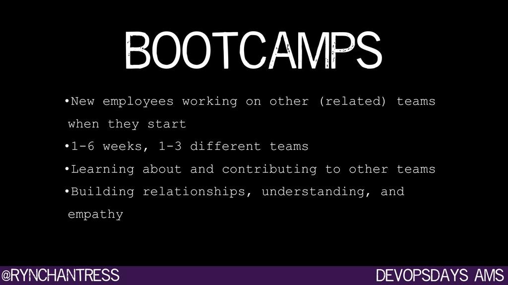 devopsdays ams @rynchantress •New employees wor...