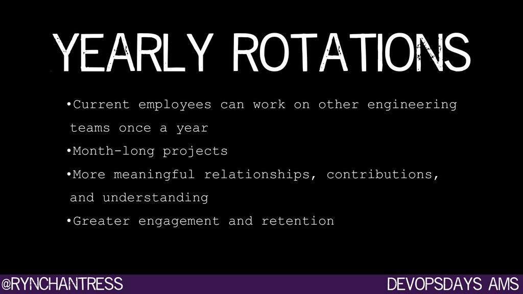 devopsdays ams @rynchantress •Current employees...