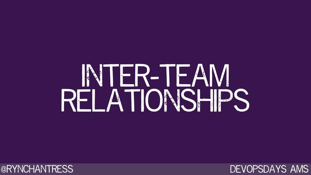 Devopsdays AMS @rynchantress inter-team relatio...