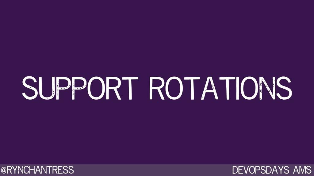 Devopsdays AMS @rynchantress Support rotations
