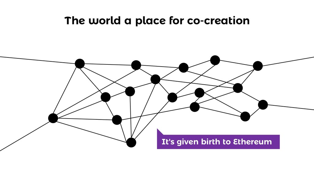 The world a place for co-creation It's given bi...