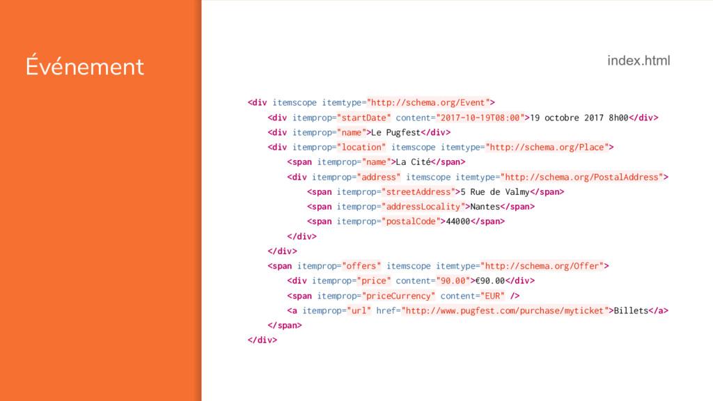 "Événement <div itemscope itemtype=""http://schem..."