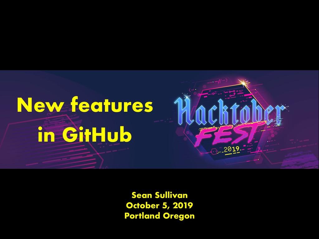 Sean Sullivan October 5, 2019 Portland Oregon N...