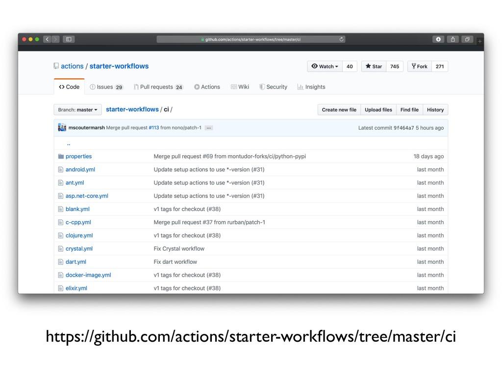 https://github.com/actions/starter-workflows/tre...