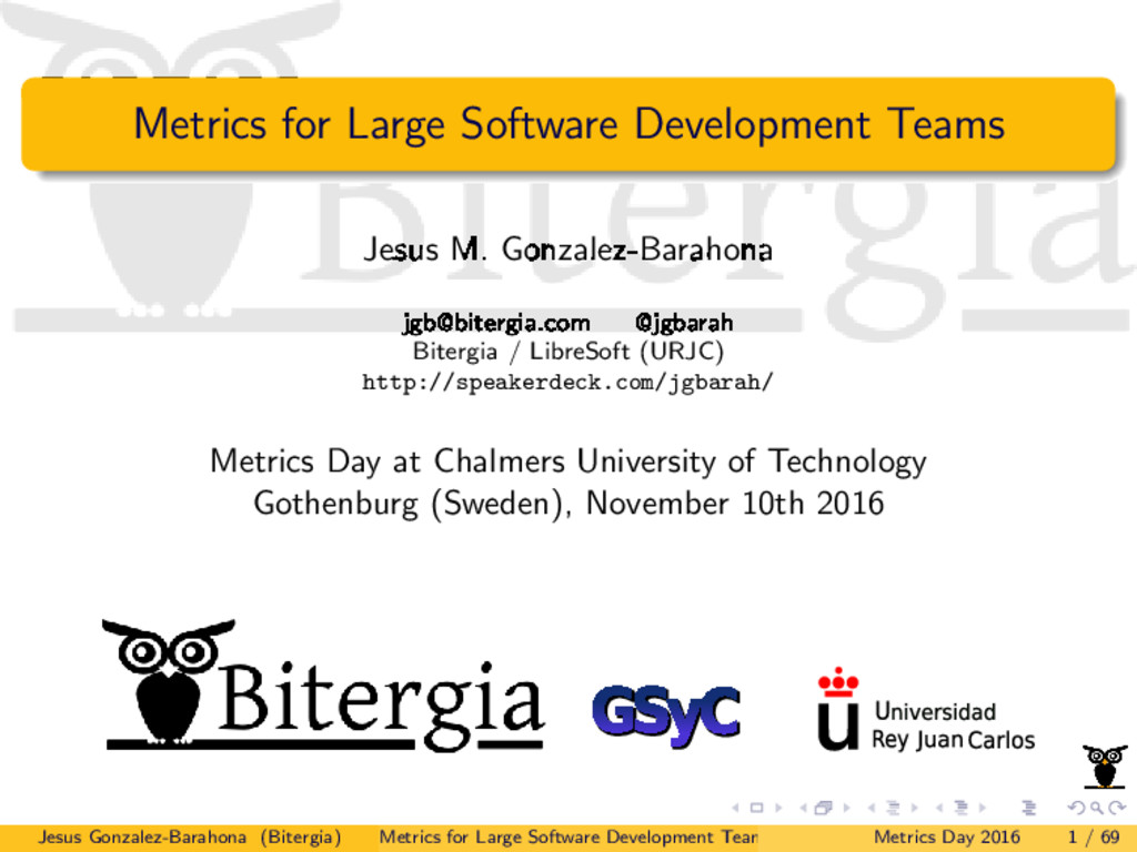 Metrics for Large Software Development Teams Je...