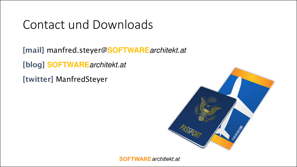 Contact und Downloads [mail] manfred.steyer@SOF...
