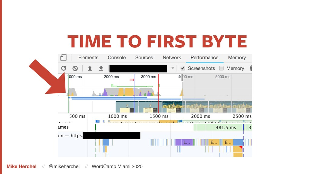 TIME TO FIRST BYTE Mike Herchel // @mikeherchel...