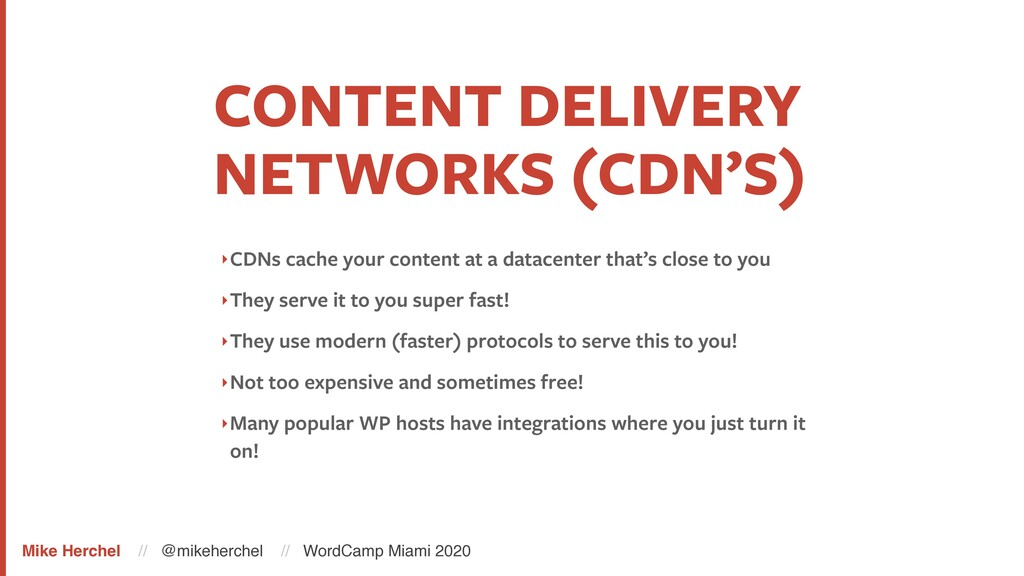 CONTENT DELIVERY NETWORKS (CDN'S) ‣CDNs cache y...