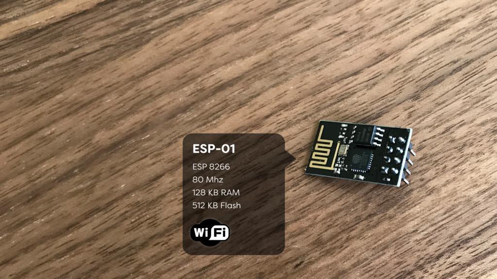 ESP-01 ESP 8266  80 Mhz 128 KB RAM 512 KB F...
