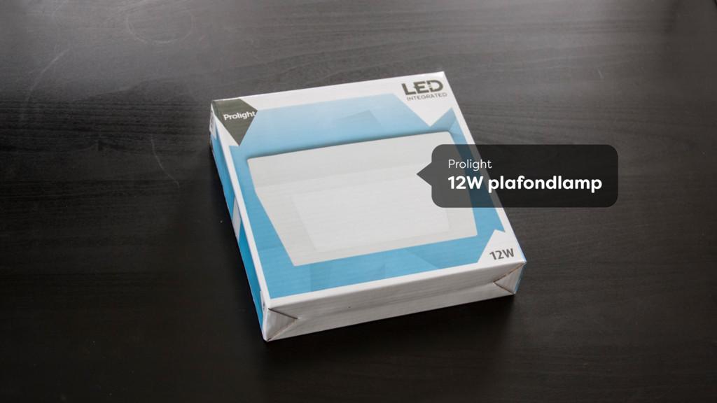 Prolight 12W plafondlamp