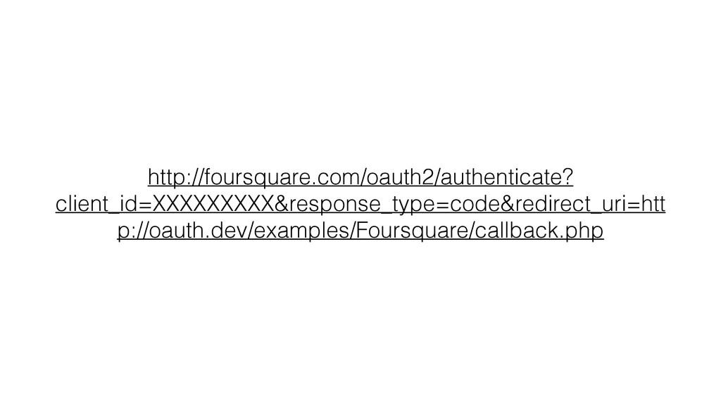 http://foursquare.com/oauth2/authenticate? clie...