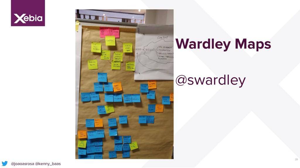 29 @joaoasrosa @kenny_baas Wardley Maps @swardl...