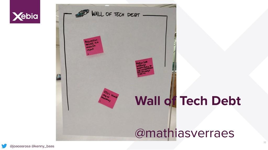 32 @joaoasrosa @kenny_baas Wall of Tech Debt @m...