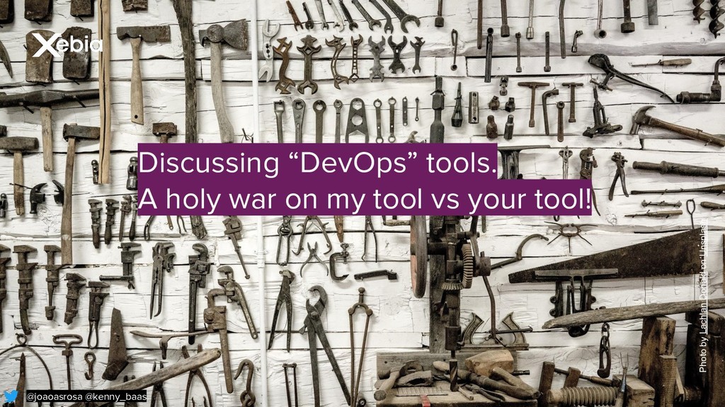 "@joaoasrosa @kenny_baas Discussing ""DevOps"" too..."