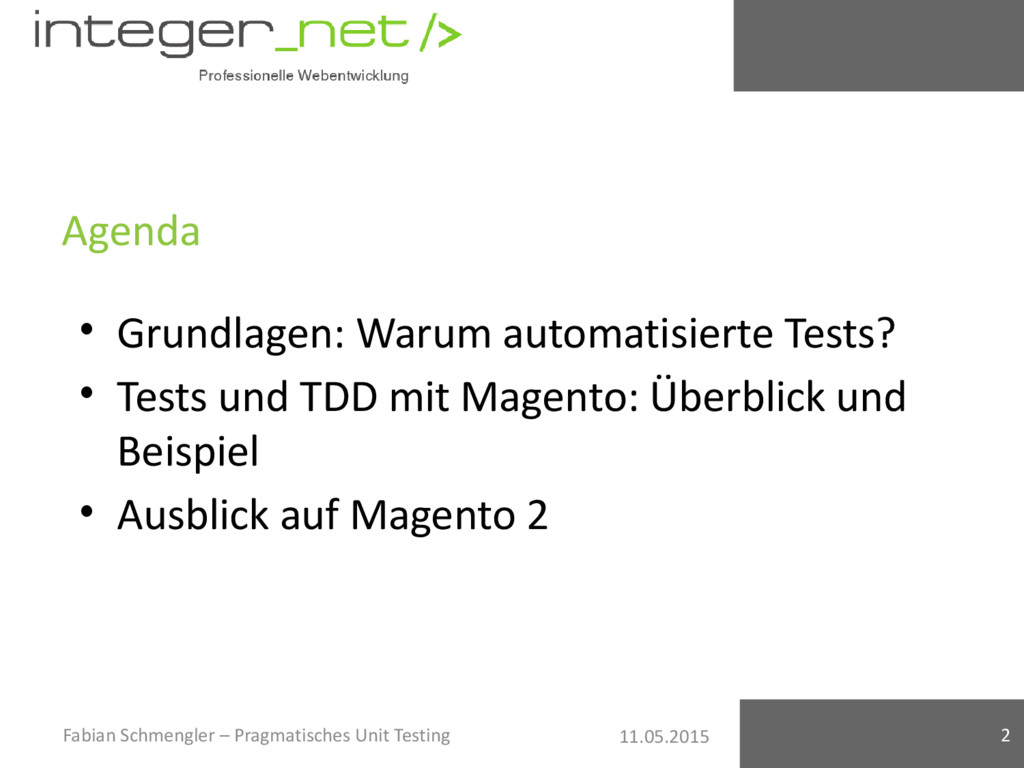 11.05.2015 Agenda Fabian Schmengler – Pragmatis...