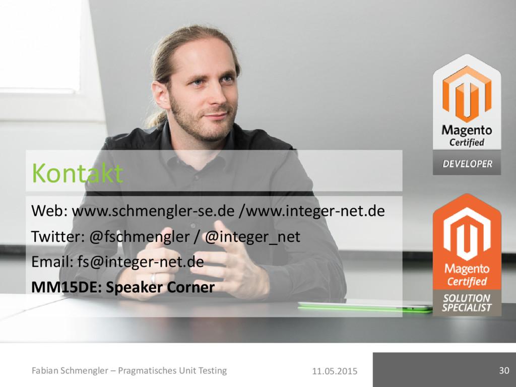 11.05.2015 Kontakt Web: www.schmengler-se.de /w...