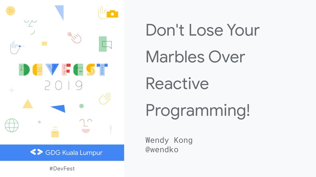 Don't Lose Your Marbles Over Reactive Programmi...