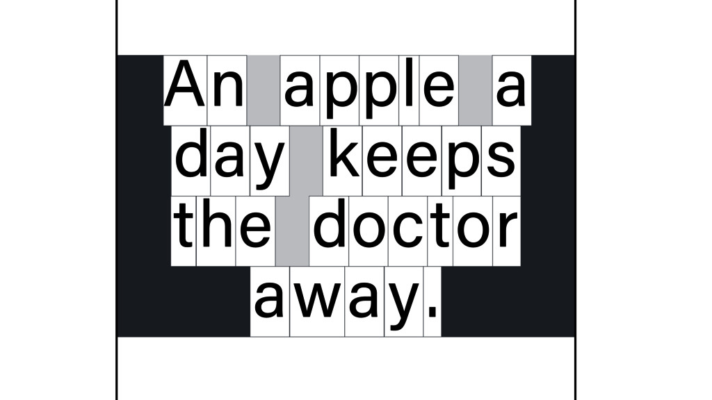 n apple a d y a keeps t e h doctor away. A