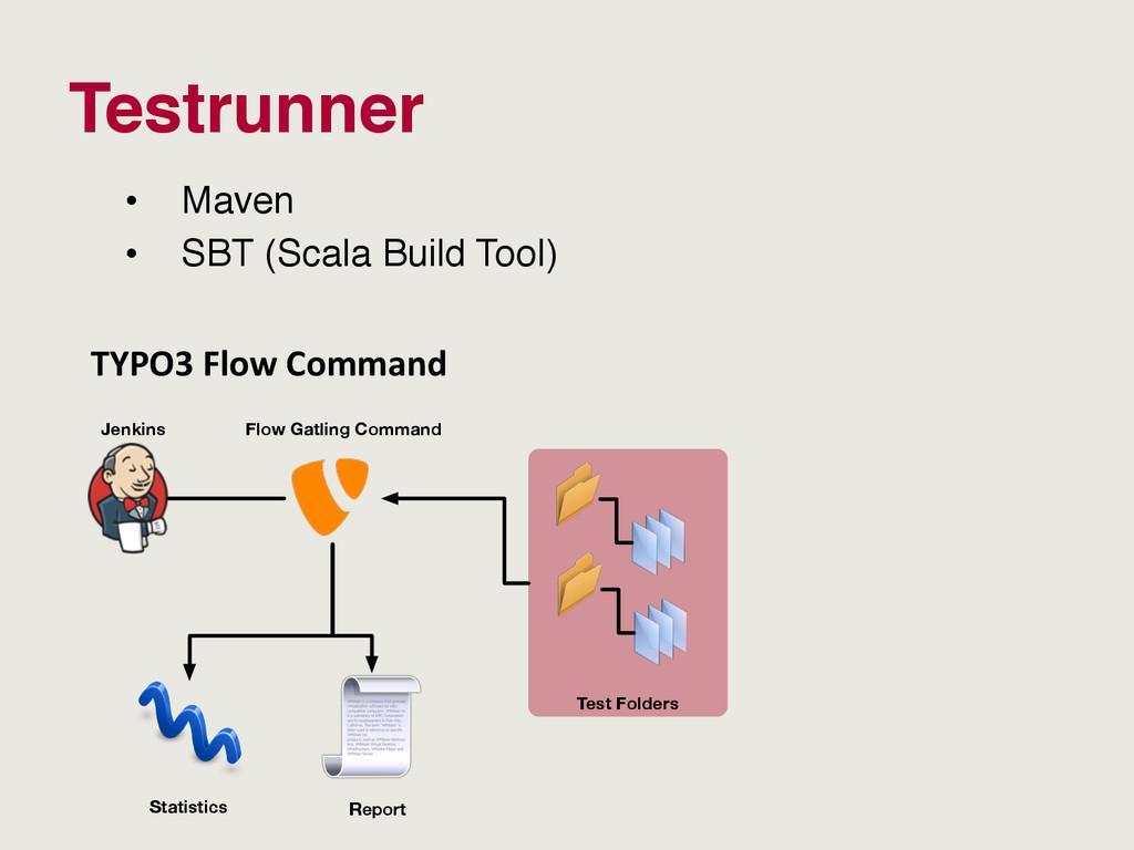 Testrunner • Maven • SBT (Scala Build Tool) T...