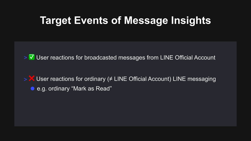 > ✅ User reactions for broadcasted messages fro...