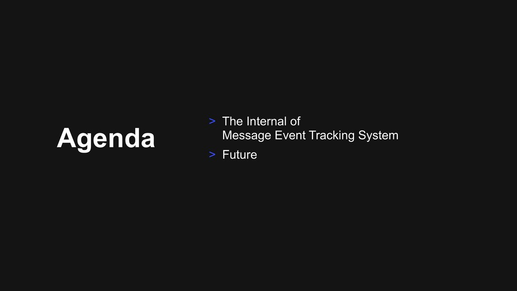 Agenda > The Internal of 