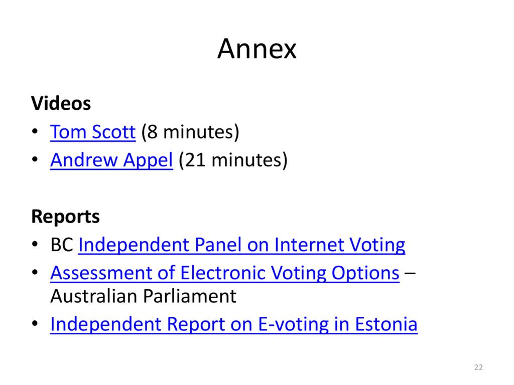Annex Videos • Tom Scott (8 minutes) • Andrew A...