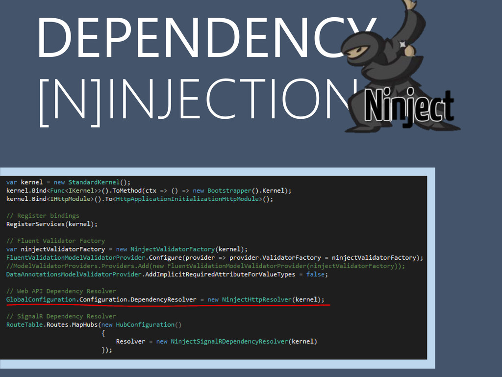 DEPENDENCY [N]INJECTION