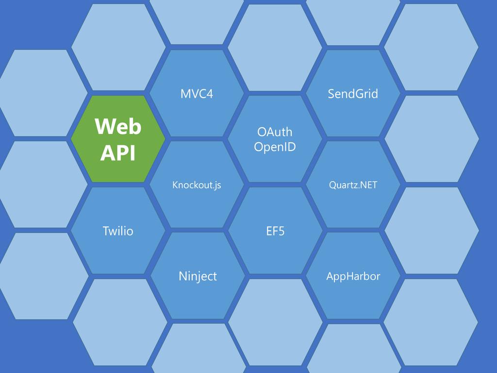 Web API MVC4 Knockout.js OAuth OpenID EF5 Ninje...