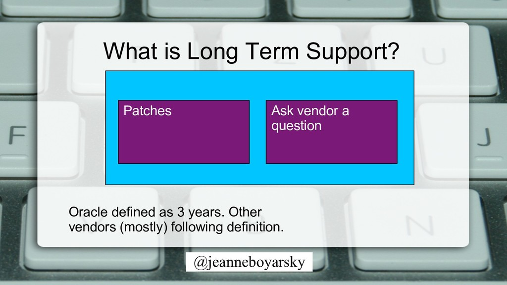 @jeanneboyarsky Patches Ask vendor a question W...