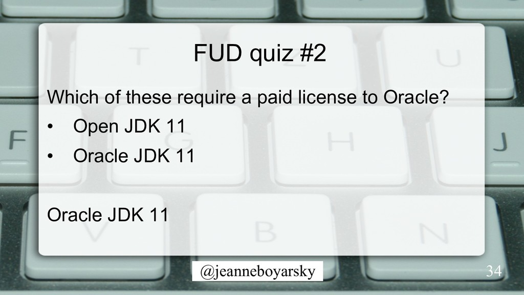 @jeanneboyarsky FUD quiz #2 Which of these requ...