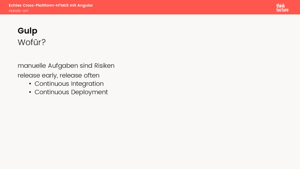 Echtes Cross-Plattform-HTML5 mit Angular Hands-...