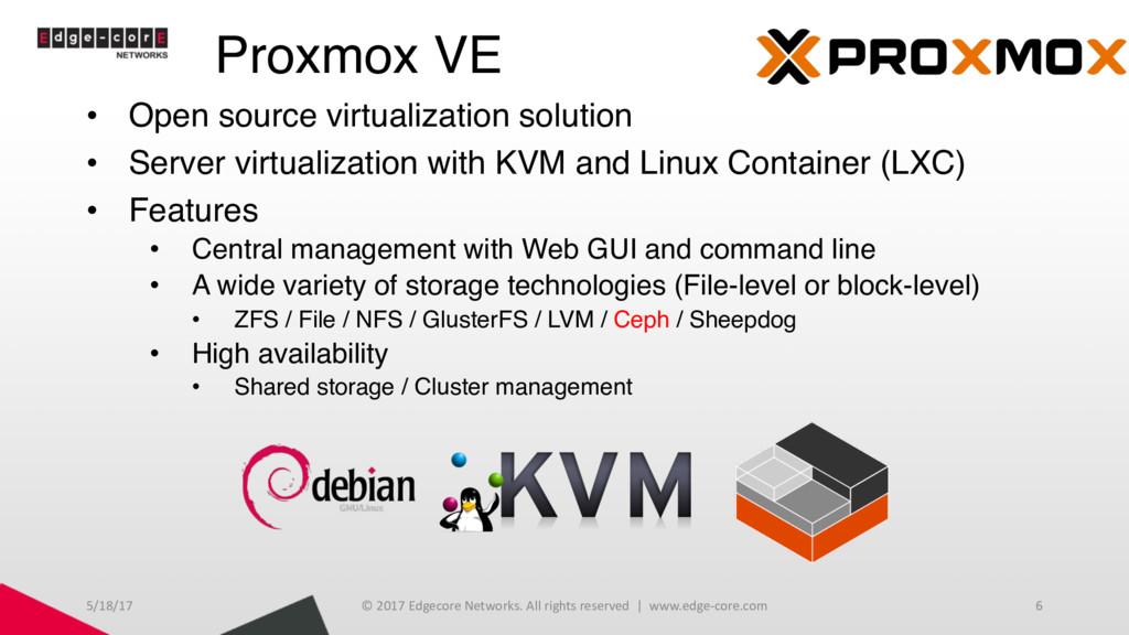 Proxmox VE • Open source virtualization solutio...
