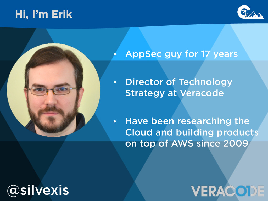 ! • AppSec guy for 17 years ! • Director of Tec...