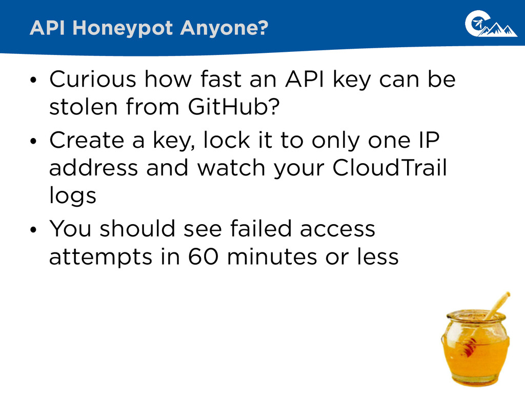 • Curious how fast an API key can be stolen fro...