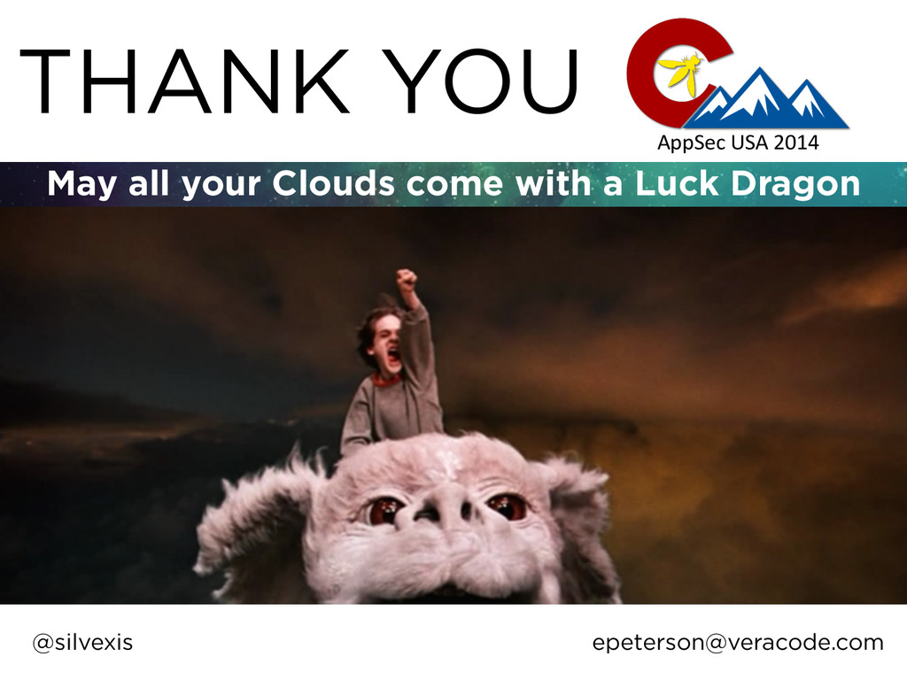 THANK YOU May all your Clouds come with a Luck ...