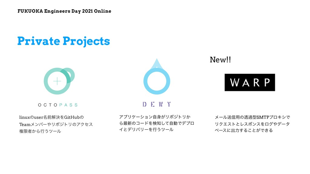 FUKUOKA Engineers Day 2021 Online Private Proje...