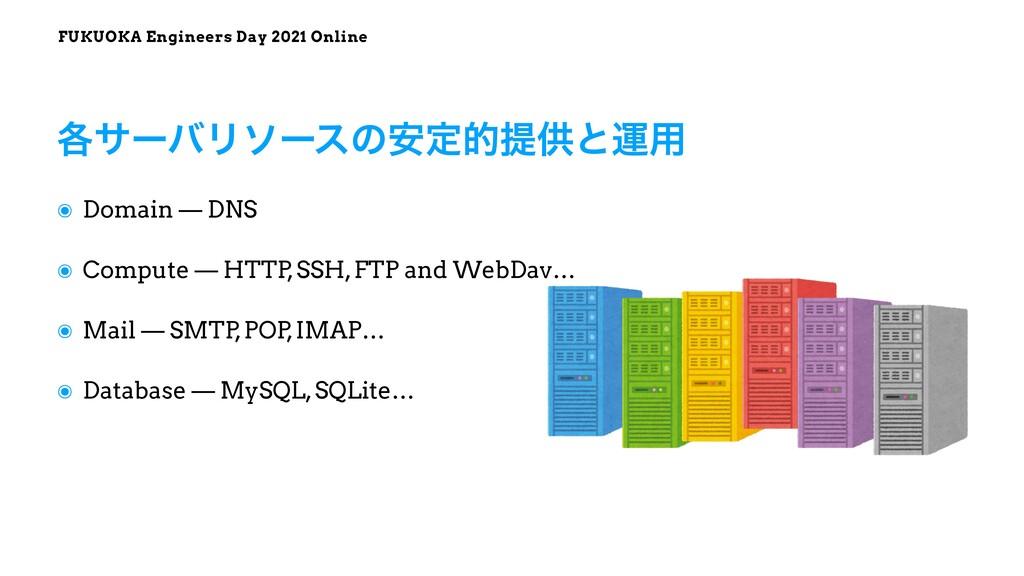 FUKUOKA Engineers Day 2021 Online ๏ Domain — DN...