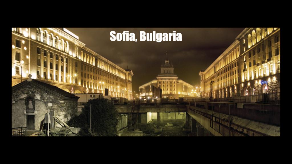 Magical Sofia City Sofia, Bulgaria