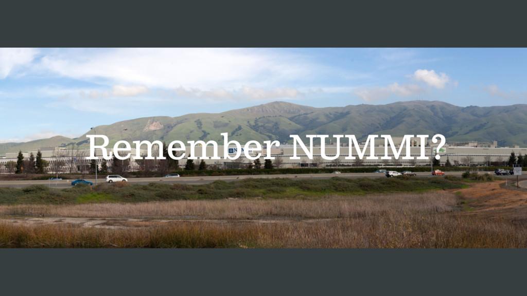Remember NUMMI?